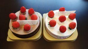 コージーコーナーアレルギー対応ケーキ
